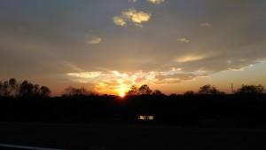 Kokai sunset